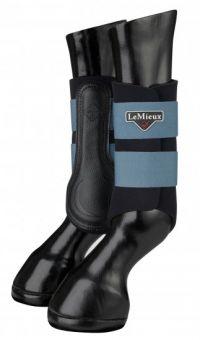 LeMieux Grafter Brushing Boots Ice Blue
