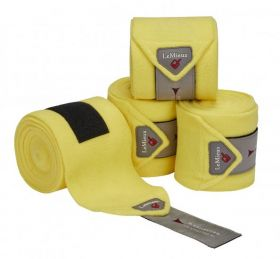 LeMieux Luxury Polo Bandages - Set of Four Citron