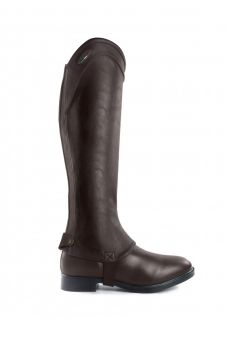 Brogini Marconia Synthetic Leather Gaiter Brown