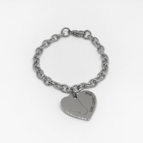 Equetech Childs Love My Horse Bracelet