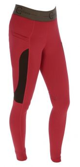 Covalliero Lia Childs Riding Tights-Chilli-8 years - EU 128 Clearance - Covalliero
