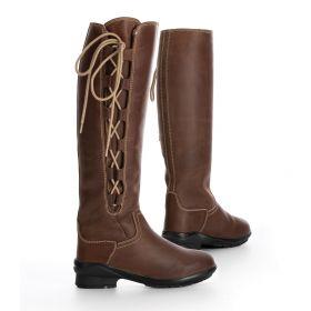 Tredstep Liffey Tall Side Lace H2O Boots - Mahogany