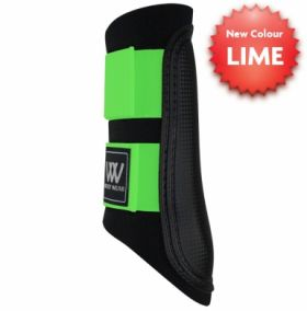 Woof Wear Club Brushing Boot Colour Fusion  Black - Lime