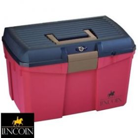 Lincoln Tack Box Medium Limited Edition  Raspberry