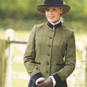 Equetech Ladies Launton Tweed Lead Rein Jacket