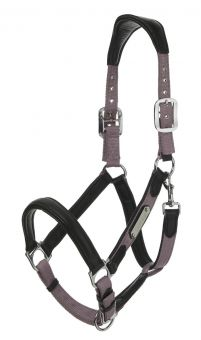 LeMieux Capella Leather Headcollar  Black - LeMieux