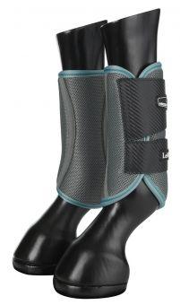 LeMieux Carbon Mesh Wrap Boots Sage-Sage-Small Clearance - LeMieux