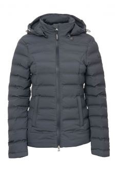 LeMieux Elise Waterproof Puffer Jacket - Grey - LeMieux