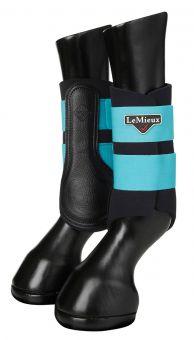 LeMieux Grafter Brushing Boots Azure - LeMieux