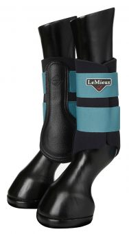 LeMieux Grafter Brushing Boots Sage - LeMieux