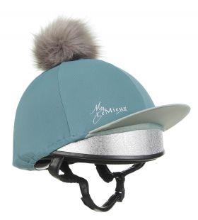 My LeMieux Hat Silk Teal - LeMieux