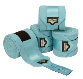 LeMieux Loire Polo Bandages 4 Pack Ice Blue - LeMieux