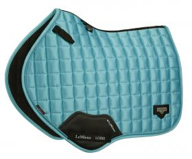 LeMieux Loire Classic Close Contact Square - Azure - LeMieux