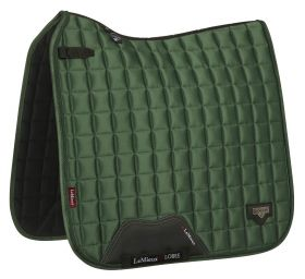 LeMieux Loire Classic Dressage Square Hunter Green