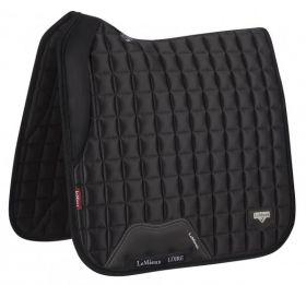 LeMieux Loire Memory Dressage Saddlepad Black