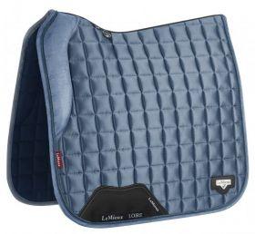 LeMieux Loire Memory Dressage Saddlepad Ice Blue