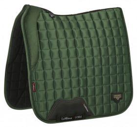 LeMieux Loire Memory Dressage Saddlepad Hunter Green