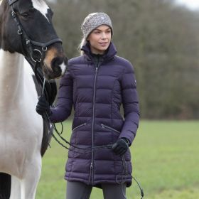Equetech Lexi Long Quilted Packable Coat