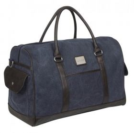 LeMieux Luxury Canvas Duffle Bag - Navy