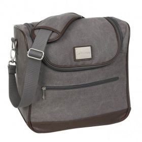 LeMieux Luxury Canvas Grooming Bag - Grey