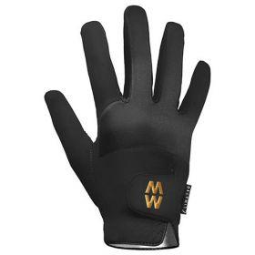 Macwet Climatec Equestrian Gloves - Short Cuff  Black