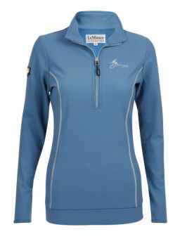 My LeMieux Madrisa Fleece Ice Blue
