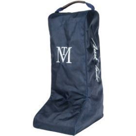 Mark Todd Luggage Padded Pro Boot Bag Navy Chocolate