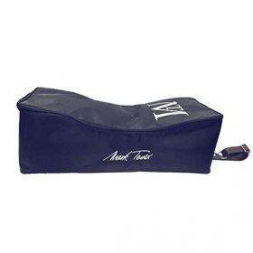 Mark Todd Luggage Padded Pro Bridle Bag Navy/Chocolate