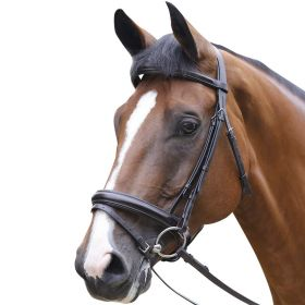 Mark Todd Performance Patent Piped Flash Bridle Oak