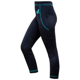 Mark Todd Leggings Kids Navy/Aqua