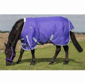 Mark Todd Lightweight Pony Turnout Rug Purple - Grey