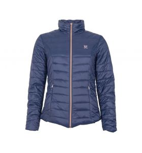 Mark Todd Rhapsody Ladies Jacket Navy - Rose