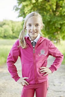 Covalliero Maxxia Childrens Full Zip Hoodie-8-9 Years Clearance