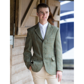 Equetech Boys Claydon Tweed Riding Jacket