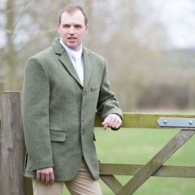 Equetech Mens Claydon Tweed Riding Jacket
