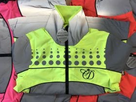 Equisafety Charlotte Dujardin Reflective Mercury Riding Jacket - Pink - Equisafety