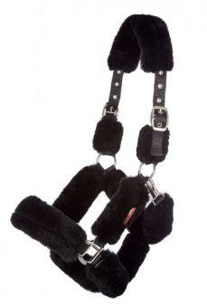 LeMieux Merino+ Fully Lined Headcollar  Black