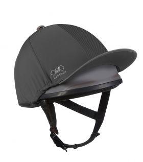 LeMieux Pro Mesh Hat Silk - Grey
