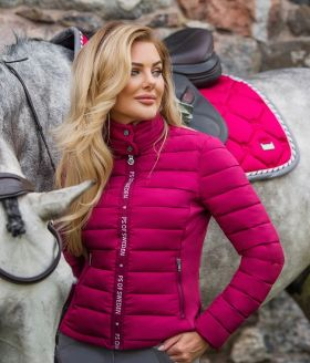 PS of Sweden Mila Riding Jacket-Scarlet-Small - PS of Sweden