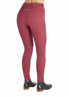 Montar Kelly Breeches in Ruby Red