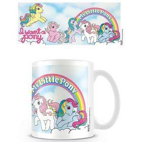 My Little Pony Retro Mug (I want a Pony)
