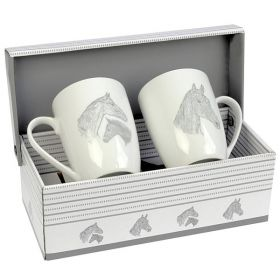 Mare and Foal Mugs Gift Set