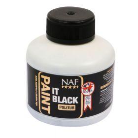 NAF Paint It Black Hoof Polish 250ml