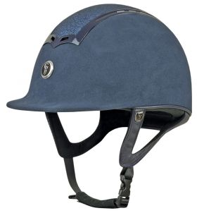 Gatehouse Ciana Suede Glitter Riding Hat