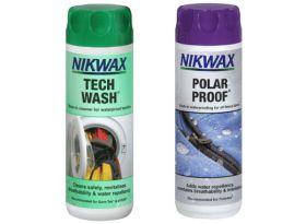 Nikwax Tech Wash/Polar Proof Twin Pack 300ml