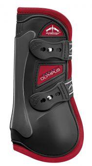 Veredus Colour Edition Olympus Tendon Boots  Black - Bordeaux