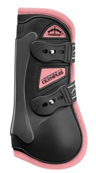 Veredus Colour Edition Olympus Tendon Boots  Black - Baby Pink