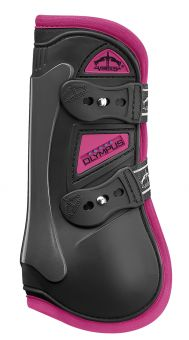 Veredus Colour Edition Olympus Tendon Boots  Black - Pink