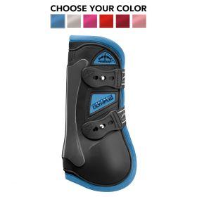 Veredus Colour Edition Olympus Tendon Boots  Black - Light Blue