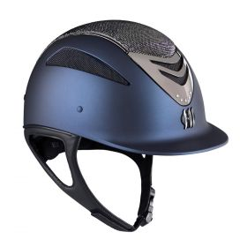 One K Defender Air Glamour Chrome Riding Hat